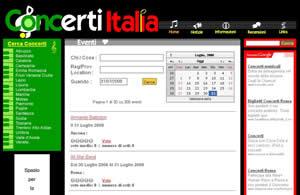 Concerti italia